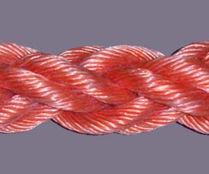Polypropylene monofilament 8-strand braided rope